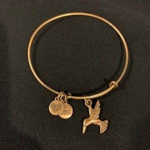 Alex and Ani Gold Finish Bracelet